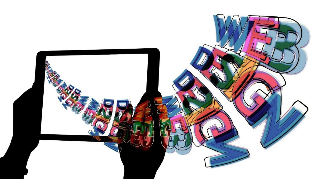 web design, web page, laptop